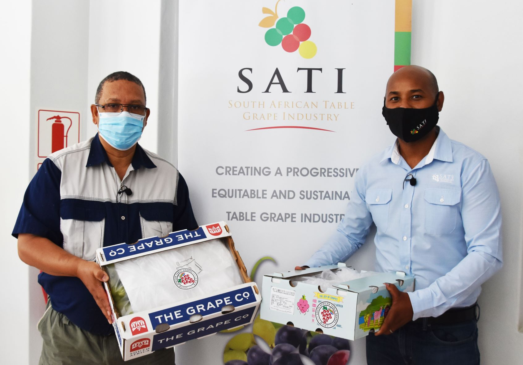 STRATEGIC PARTNERSHIP BETWEEN SATI AND WESTERN CAPE DEPARTMENT OF AGRICULTURE TO INCREASE EXPORTS TO CHINA