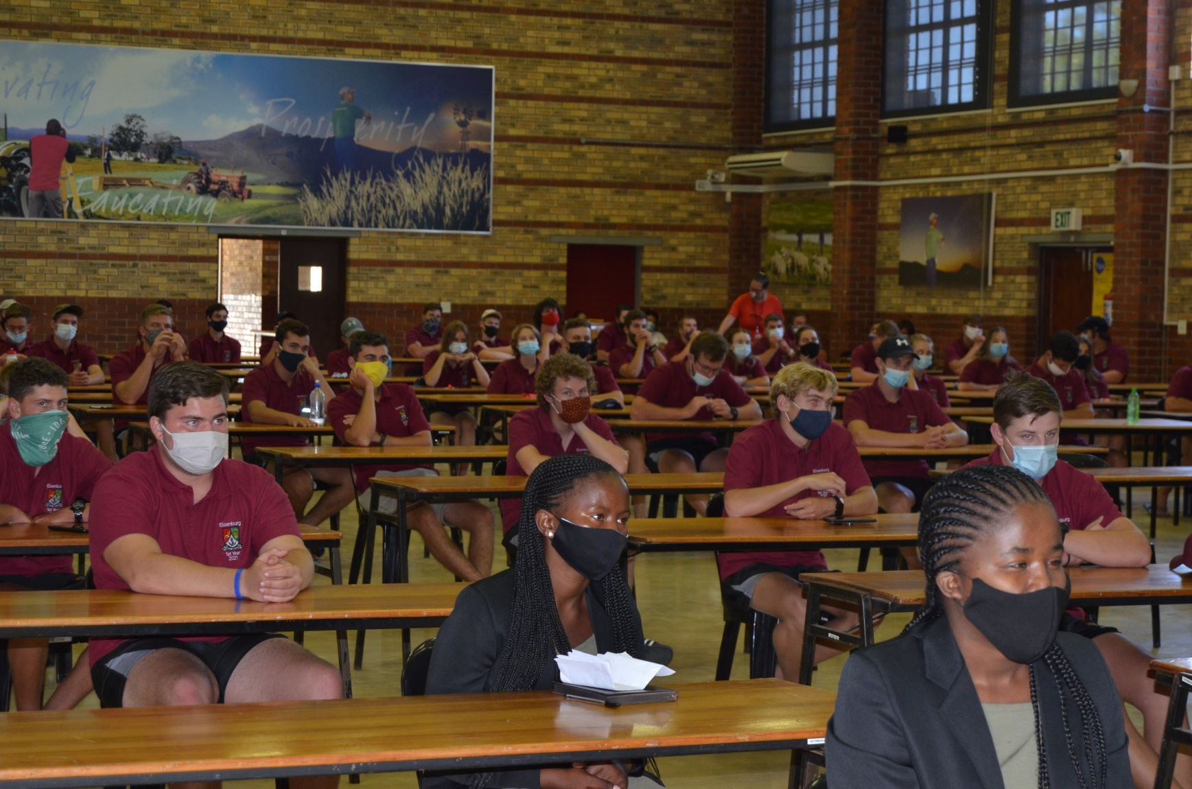 ELSENBURG AGRICULTURAL TRAINING INSTITUTE WELCOMES FIRST YEAR STUDENTS