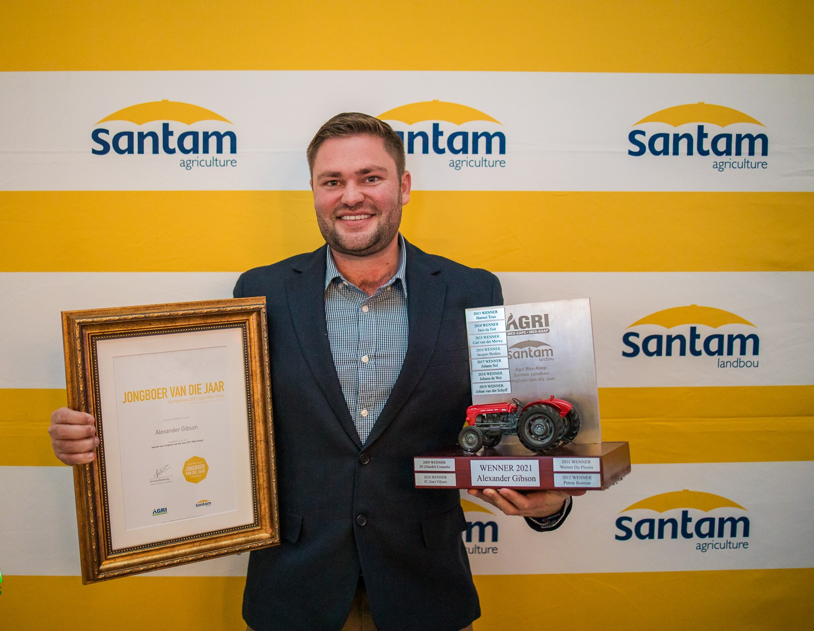 AGRICULTURAL YOUNG FARMER OF THE YEAR FOR 2021 ANNOUNCED